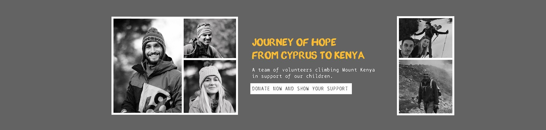 JOURNEY OF HOPE FROM CYPRUS TO KENYA